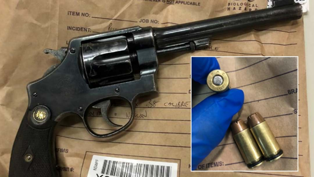 PHOTOS: Weapons Found In Newcastle Home