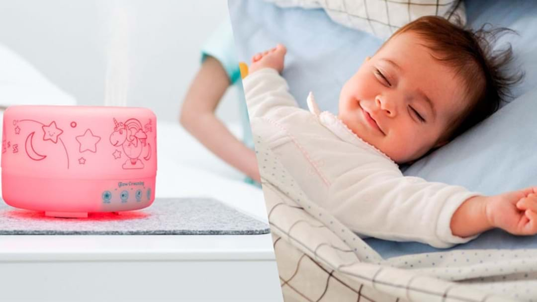 Mums LOVE This Lamp That Helps Babies Fall Asleep In 10 Minutes
