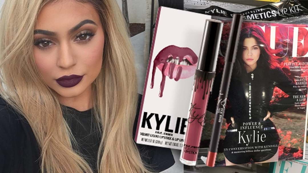 PSA: This Month's Vogue Issue Comes With FREE A Kylie Jenner Lip Kit