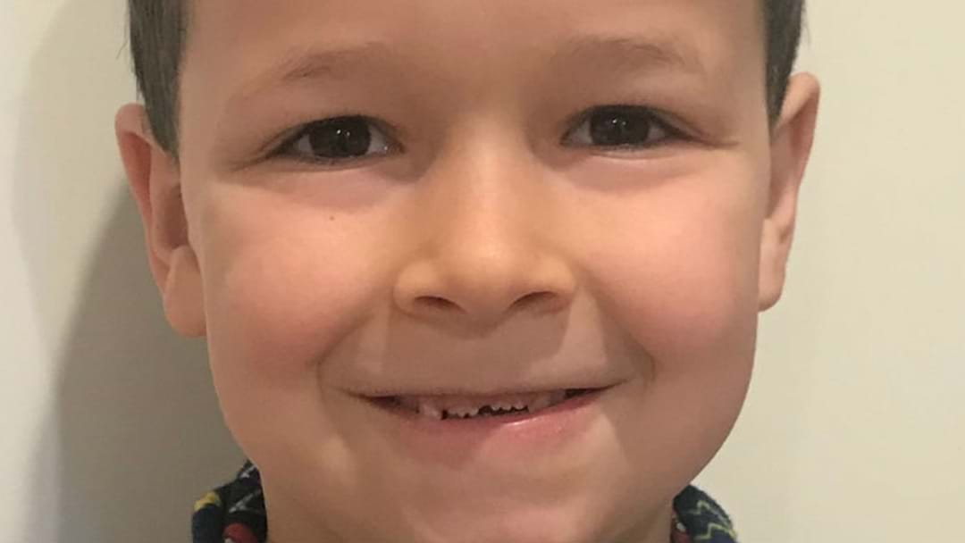 POLICE PUT OUT AMBER ALERT FOR MISSING BOY