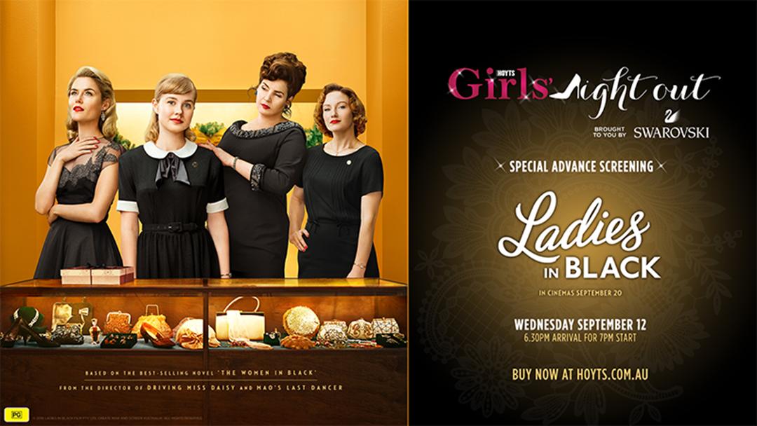 Ladies In Black Girls Night Out!