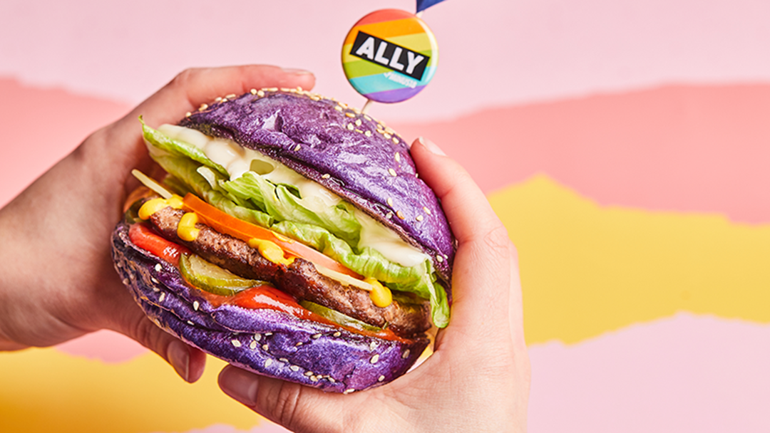 Huxtaburger Is Turning Their Burgers Purple This Friday With Purpose