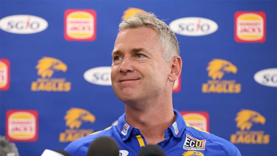 Adam Simpson Signs New Deal With West Coast Eagles