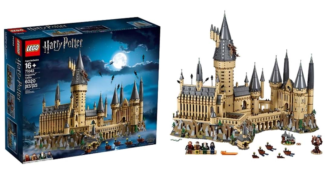 Harry Potter Fans Expected To Line Up For New LEGO Hogwarts