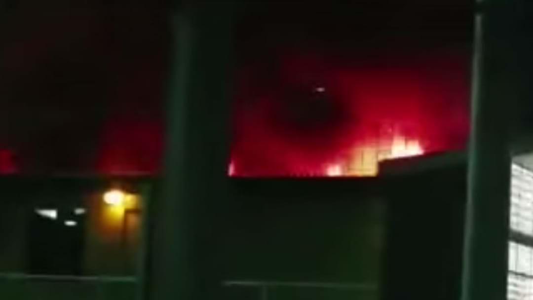 WA Detention Centre Ablaze After Riot