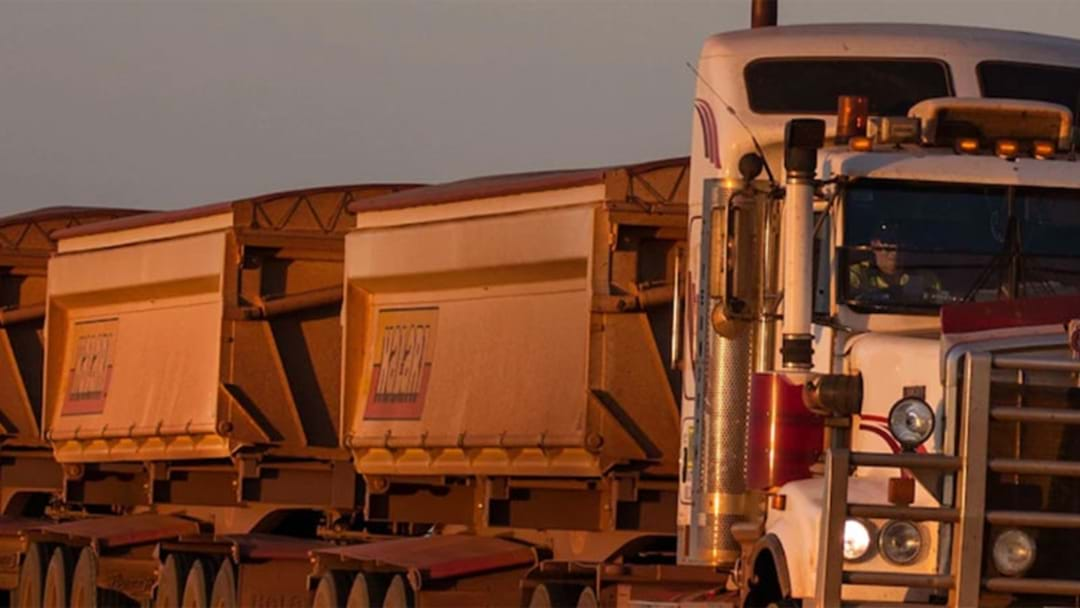 Truck Driver Passes Away Following Road Train Collision