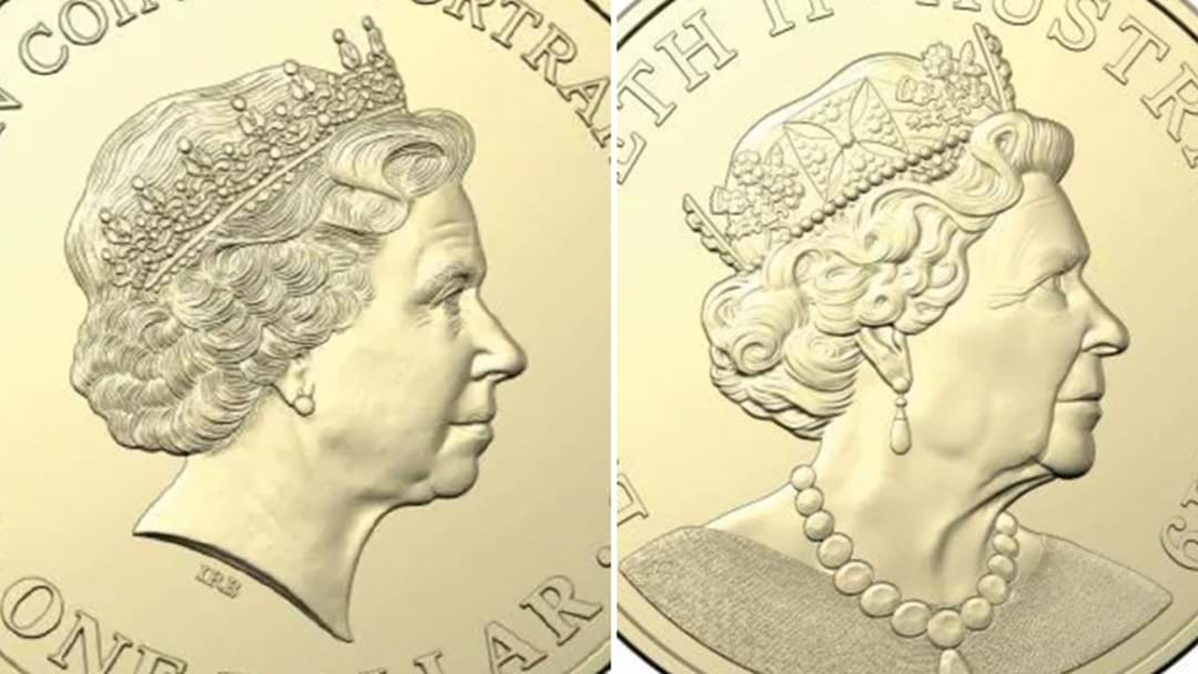 New Portrait Of The Queen On Aussie Coins