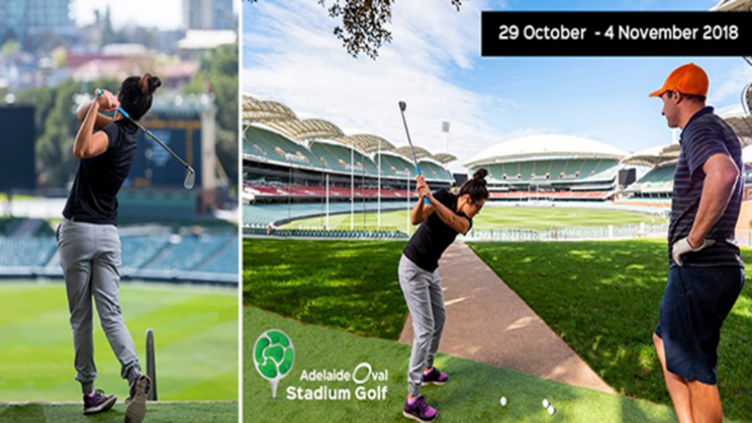 Stadium Golf Launches At Adelaide Oval