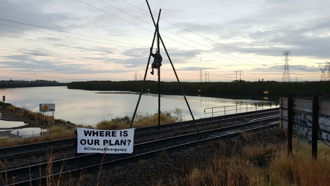 BREAKING: Another Protest Blocks Coal Trains