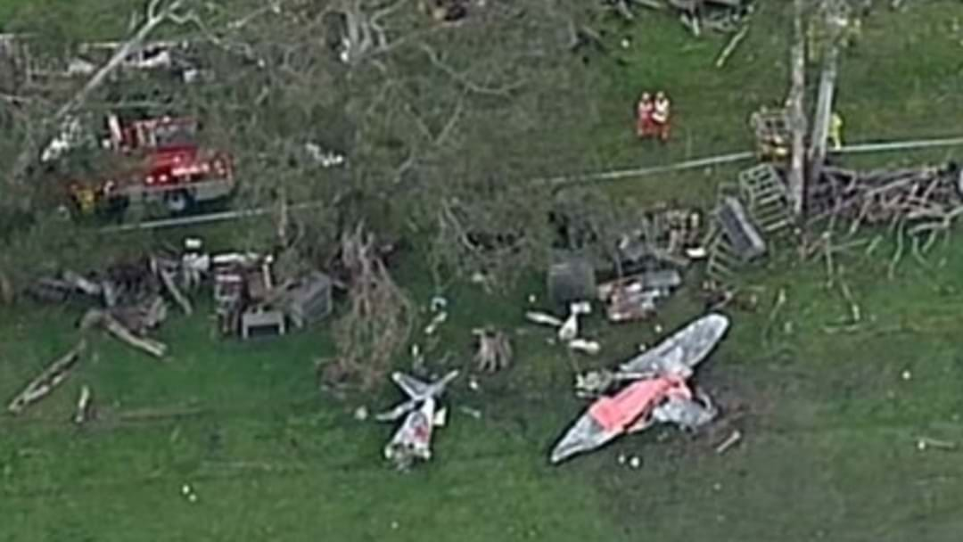 Pilot Dies After Plane Crashes In Paddock