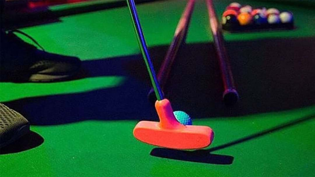 If You've Ever Wanted To Design Your Own Mini Golf Hole, Here's How You Can!