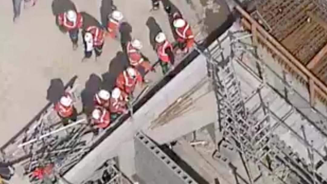 Construction Worker Hospitalised After Accident In Castle Hill