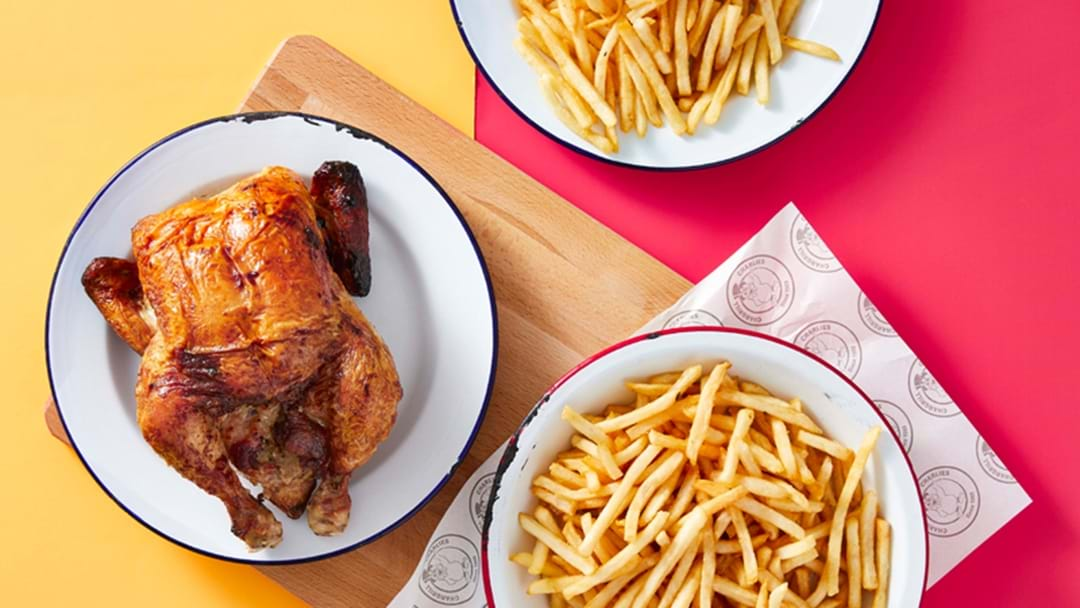 Chargrill Charlie's Are Giving Away Free Quarter BBQ Chicken + Chips This Weekend