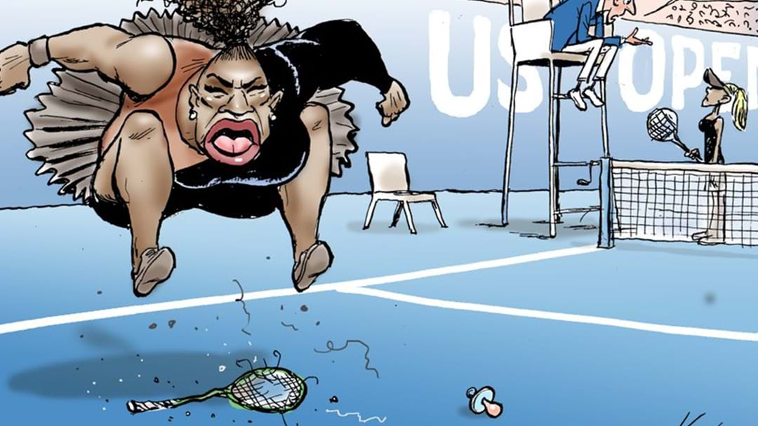 Australian Cartoon of Serena Williams Causes World-wide Controversy