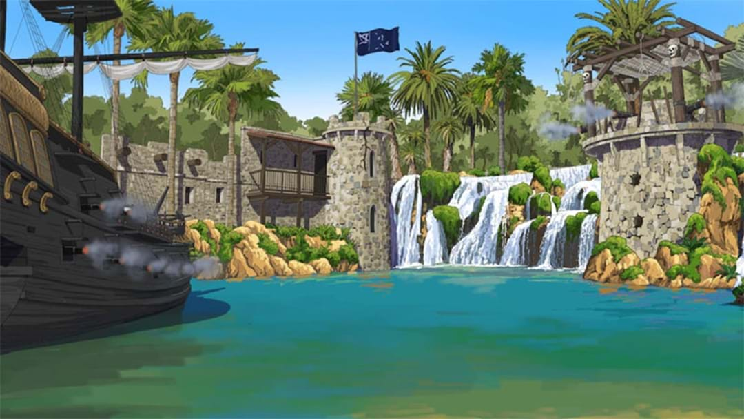 Massive Pirate-Themed Golf Course & Surf Machine Coming To Hillarys Boat Harbour