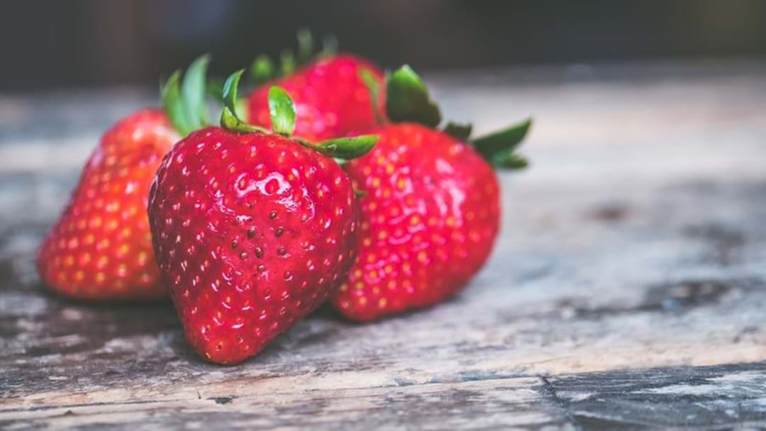 Affected Strawberries Purchased In Yarram