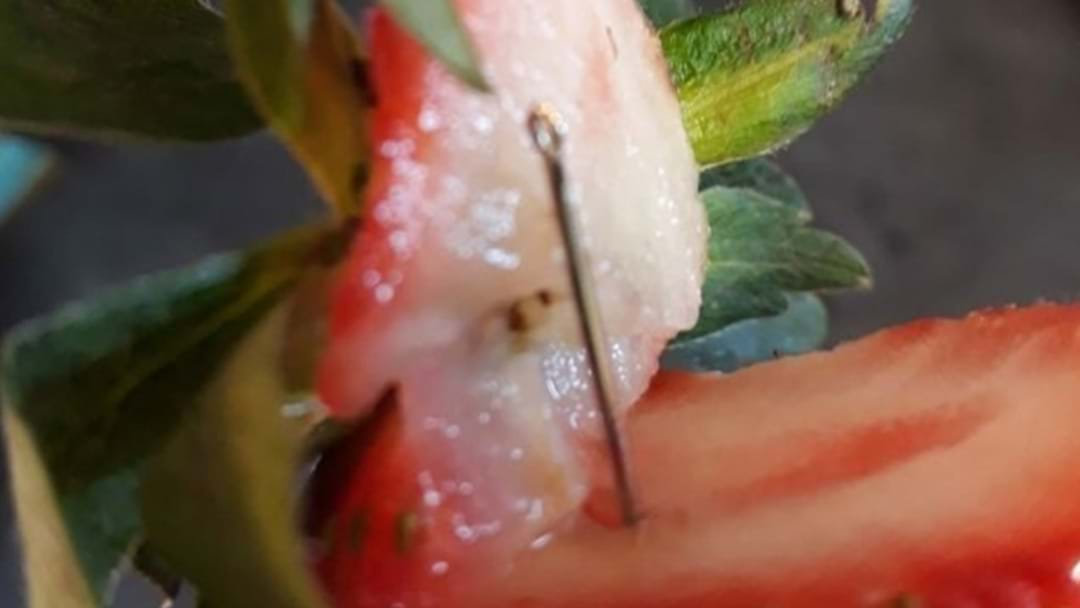 Food Warning: Everything You Need To Know After Needles Found Inside Strawberries