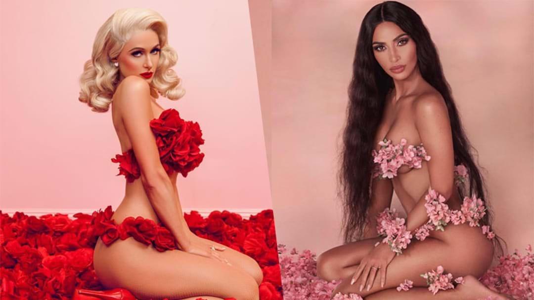 Kim Kardashian Copied Paris Hilton's Iconic Photoshoot & She Better Run