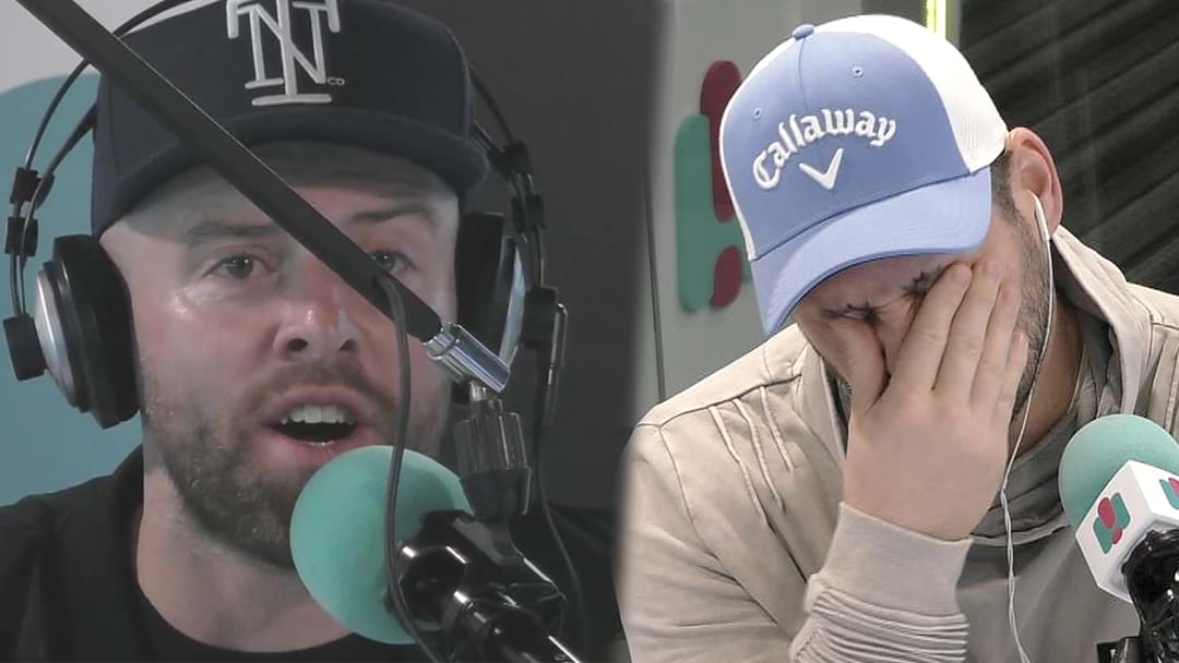 Byron Cooke Says F*#% On Air