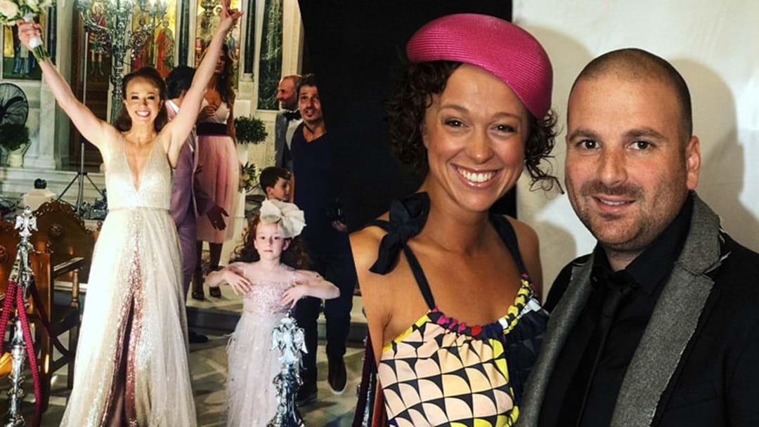 Masterchef's George Calombaris Ties The Knot In Lavish Greek Wedding