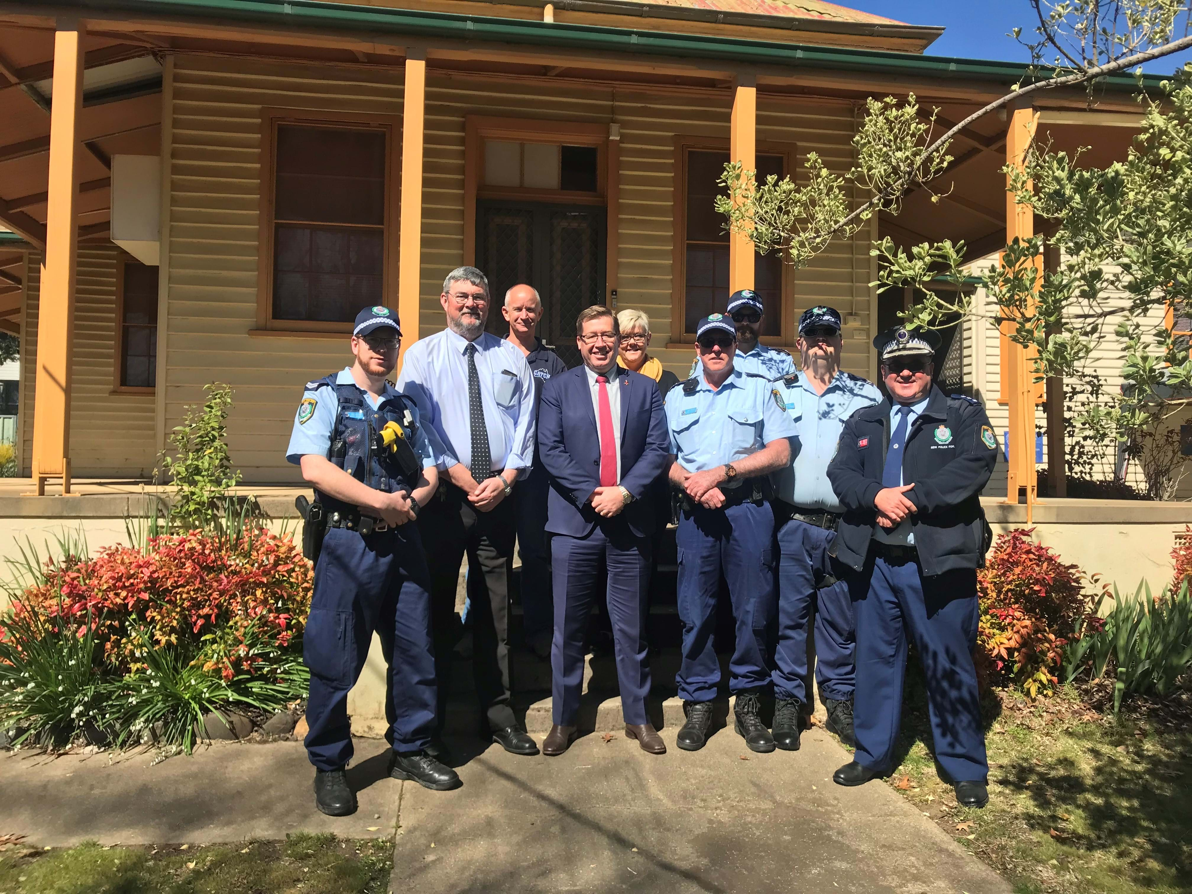 Article heading image for Police look to purchase land for new Adelong Police Station