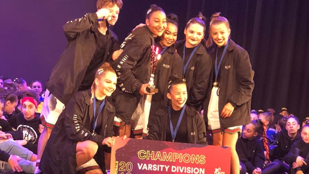 CANBERRA DANCE CREW SHINES ON NATIONAL STAGE
