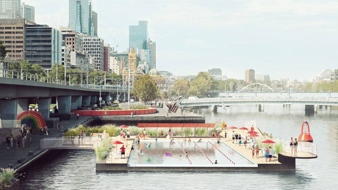 Melbourne Could Be Getting A Pool That's INSIDE The Yarra River