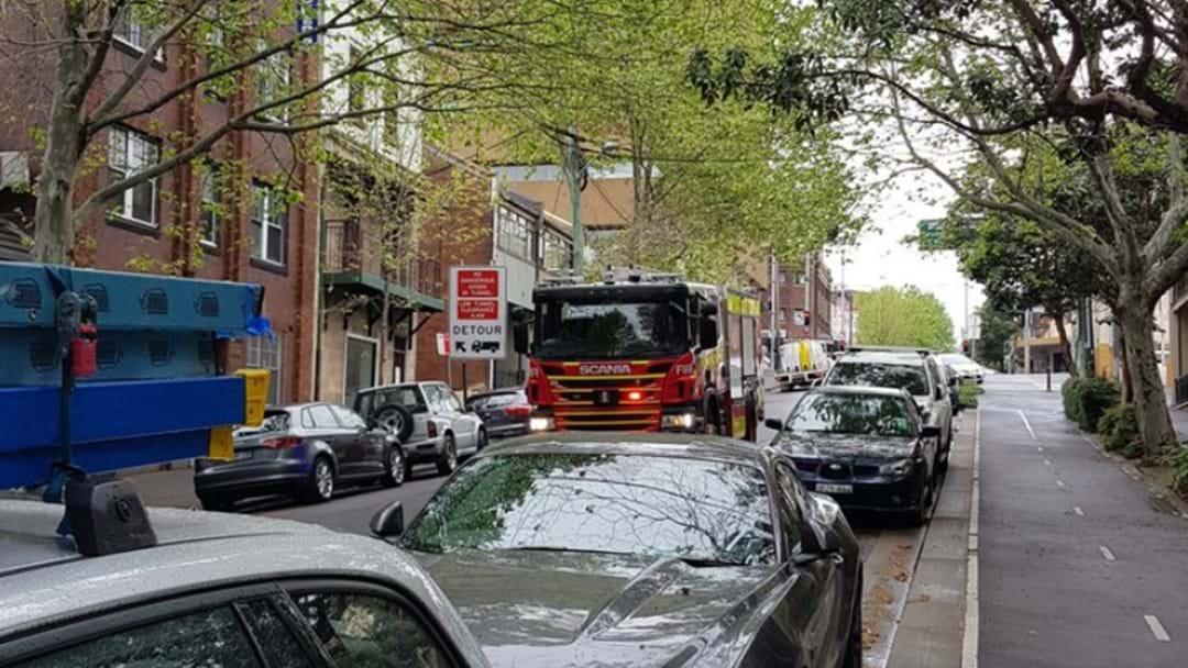 Gas Leak In Woolloomooloo Sees 30 People Evacuated From Building