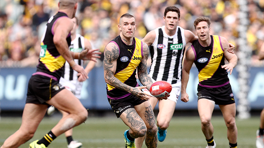 Here Are Some Places To Watch Richmond vs. Collingwood This Friday