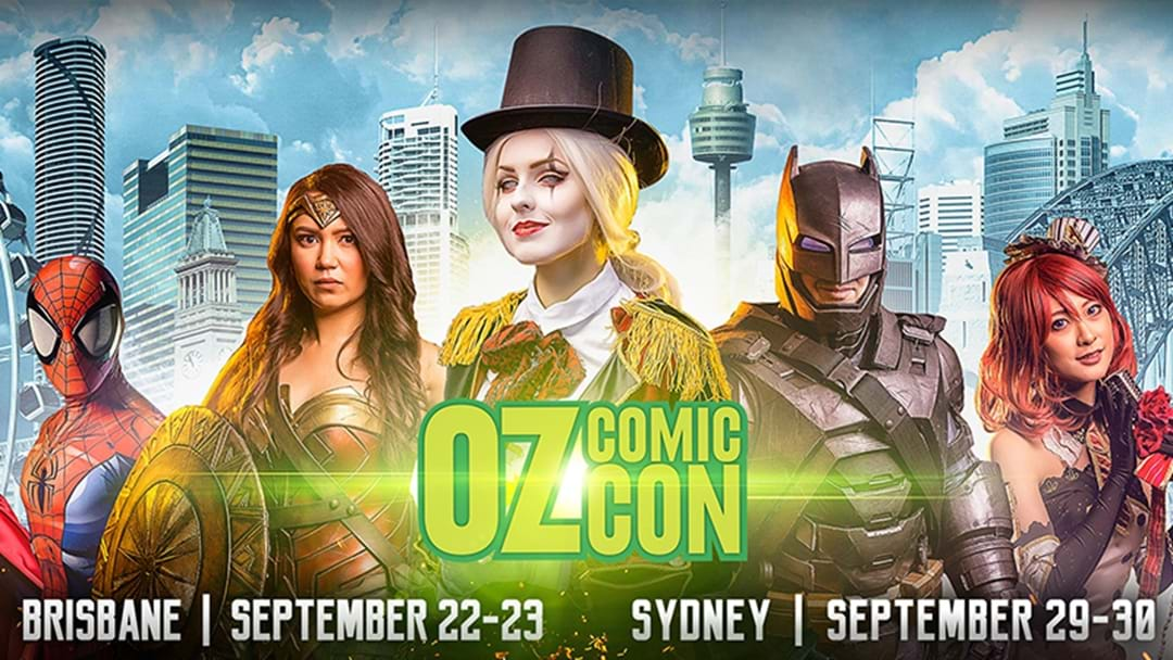 Oz Comic-Con Is Back In Sydney This Weekend!