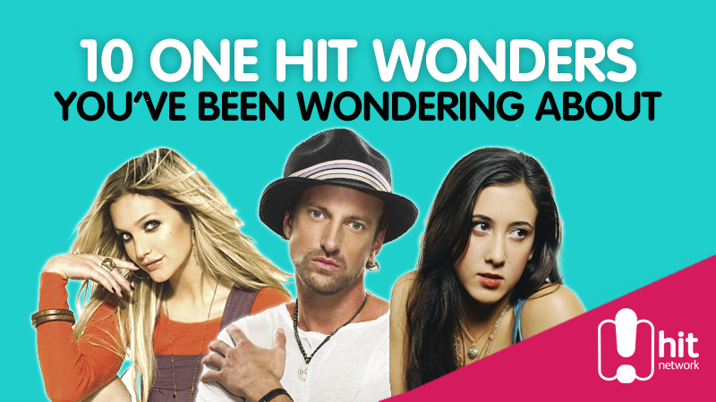 Article heading image for 10 One Hit Wonders You've Been Wondering About