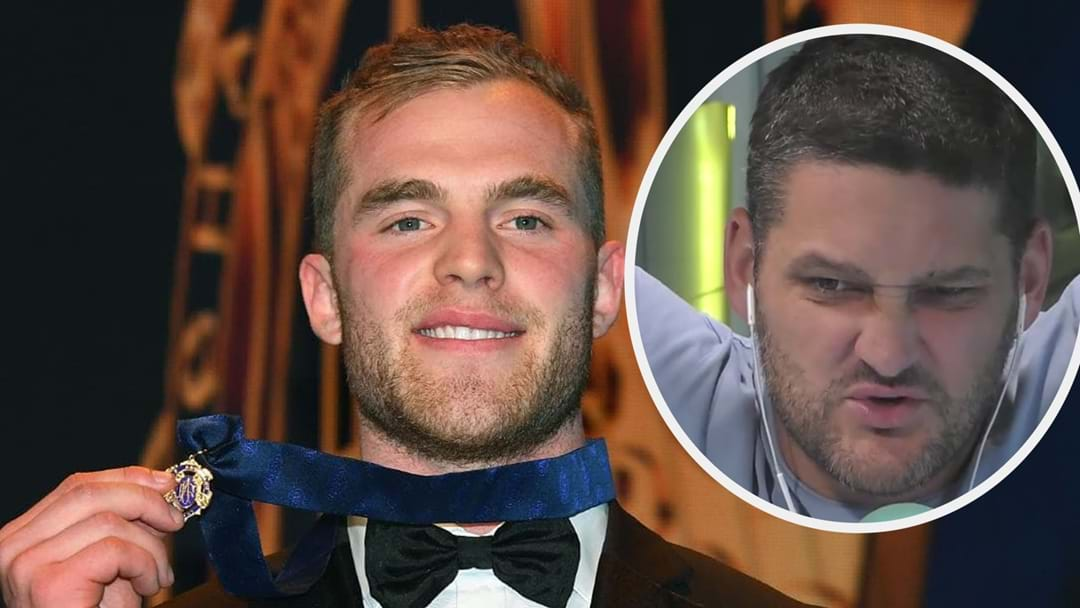 Brownlow Winner Tom Mitchell Reveals Fev Nearly Knocked Him Out On Fifi, Fev and Byron This Morning