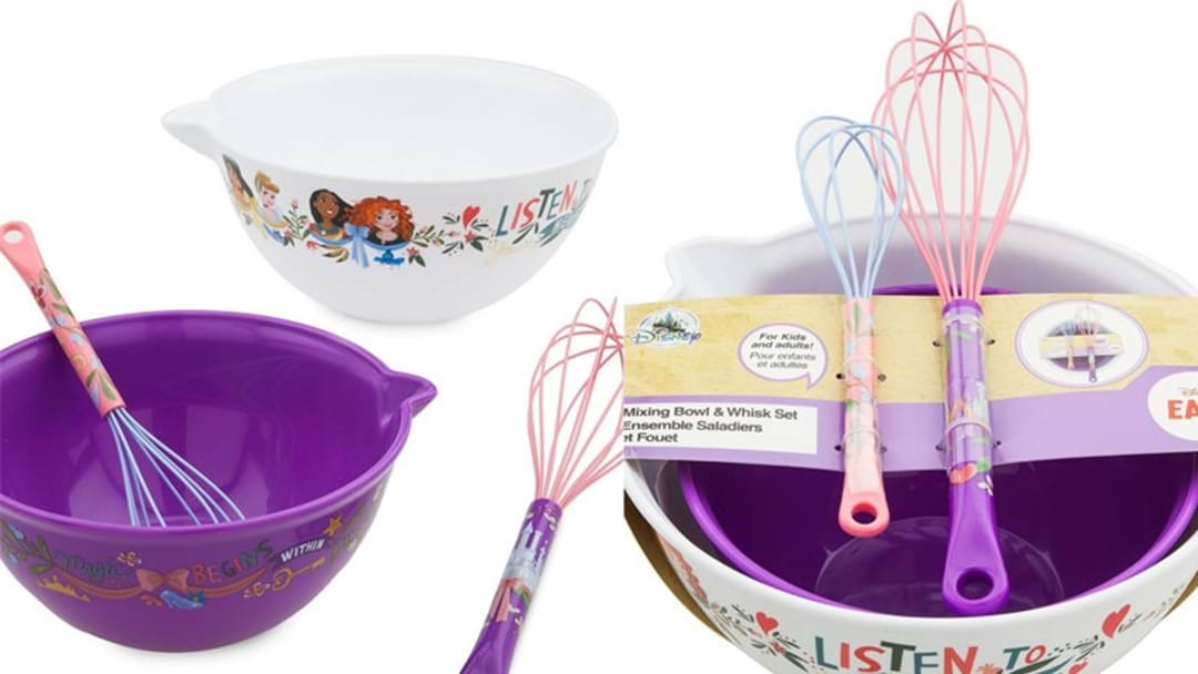 Disney's New Kitchenware Will Actually Make You Wanna Cook