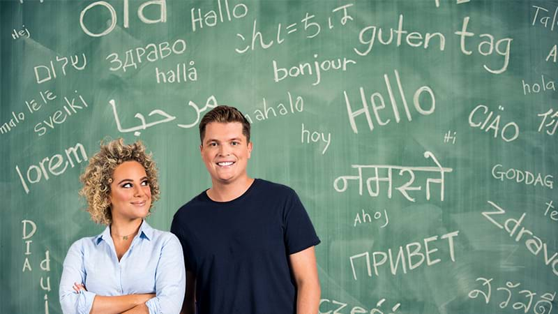 Article heading image for Gawndy & Ash Guess The Second Languages Bilingual CoastiesCan Speak