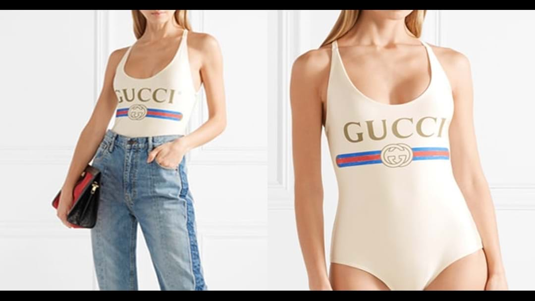 Gucci Have Just Launched A New Pair Of Bathers And It Has A Big Problem