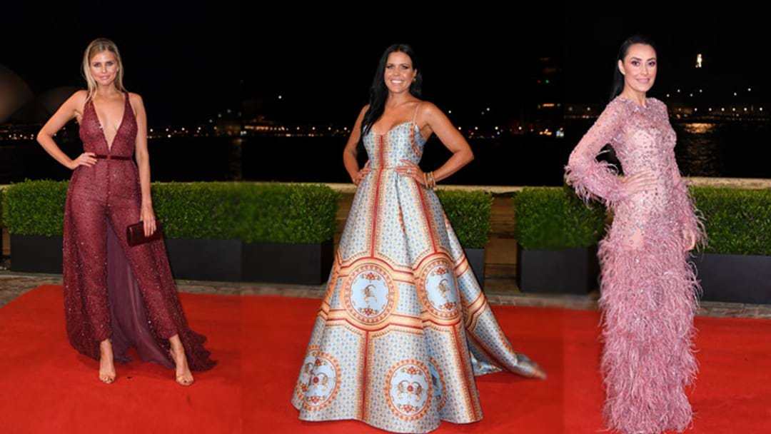 Every Dress From The 2018 NRL Dally M Red Carpet You'll Want To Buy