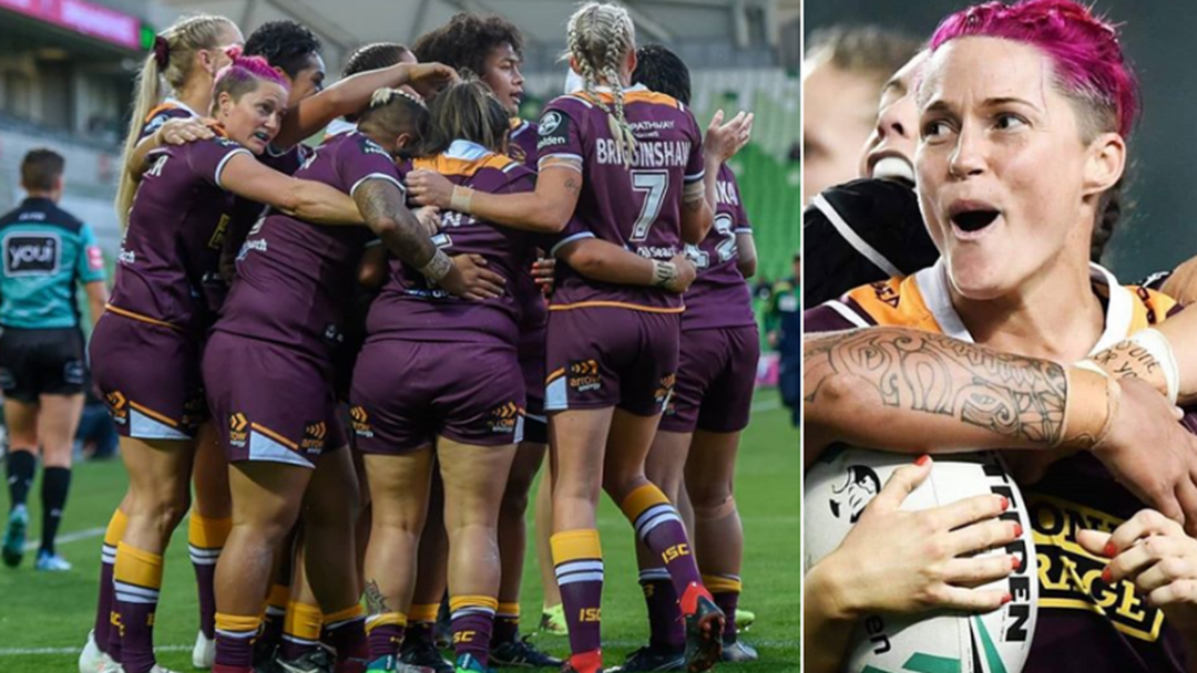 NRLW Try Scorer Of The Year Chelsea Baker Talks About This Weekend's Grand Final