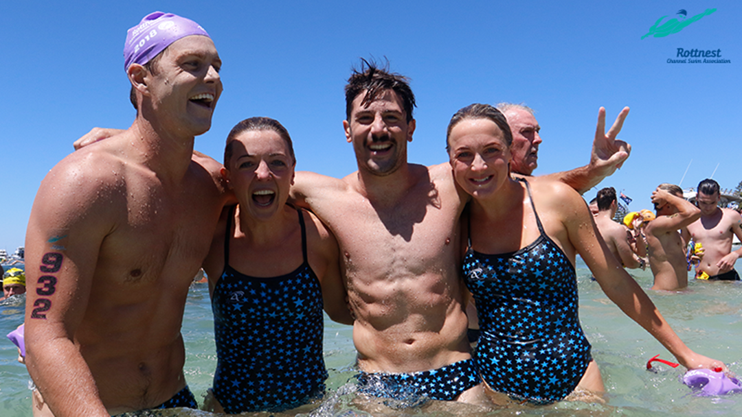The Rottnest Channel Swim is back!