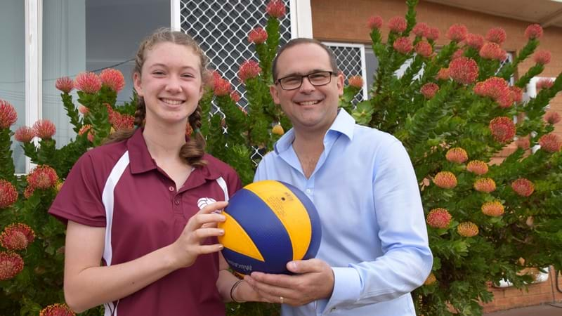 Article heading image for Local Hero Grant Helps Teen Compete in National Volleyball Comp
