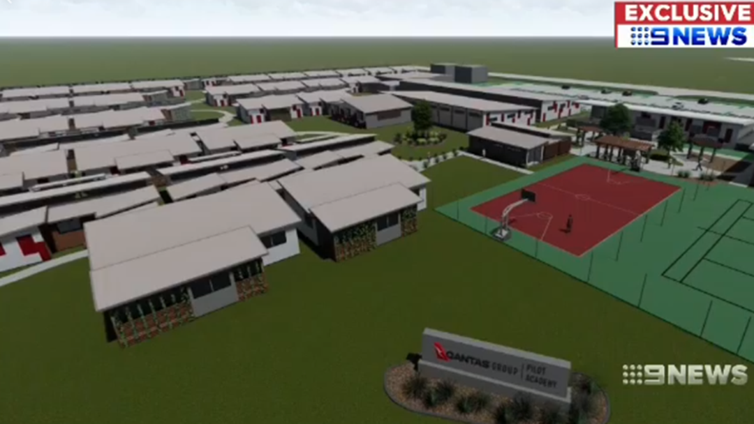 Construction of Toowoomba's QANTAS Pilot Training Academy has Begun