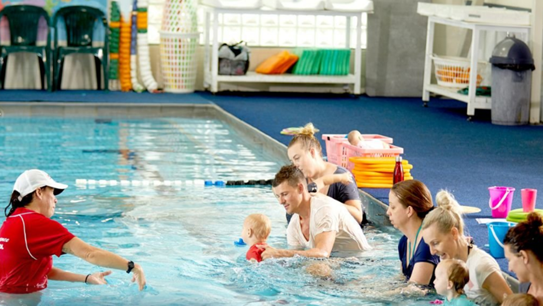 Free Swimming Lessons For Kids Under 5 From Tomorrow
