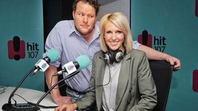 Rebecca Morse And Andrew Costello Join Hit107 For Breakfast