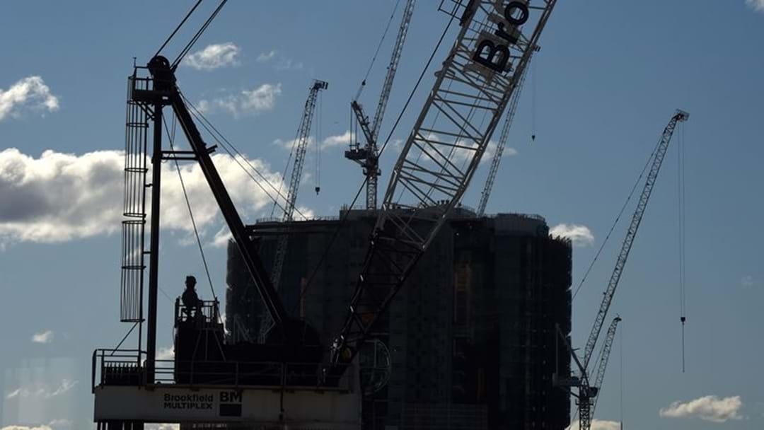 Man Arrested After BASE Jumping Off A Crane In Darling Harbour