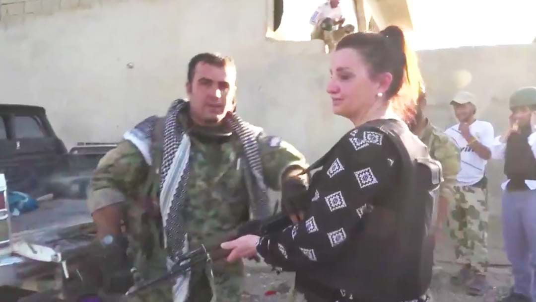 Jacqui Lambie Speaks to Hughesy And Kate After Being Caught Up in Deadly ISIS attack in Syria