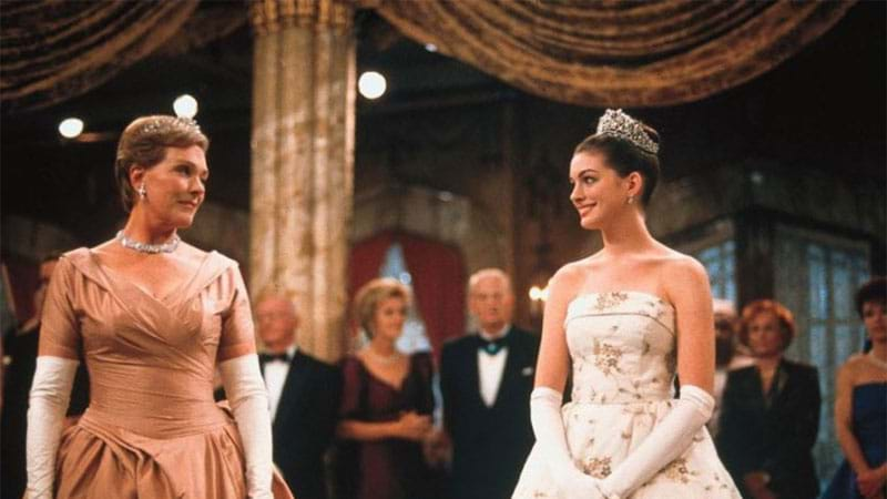 Article heading image for Anne Hathaway's 'Princess Diaries' Tribute To Julie Andrews Will Make You Cry Happy Tears