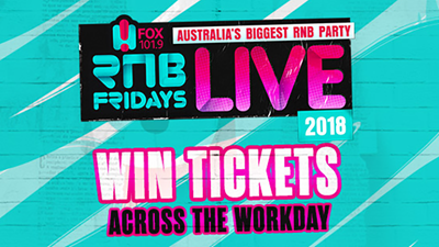 Win your way to RnB Fridays LIVE 2018