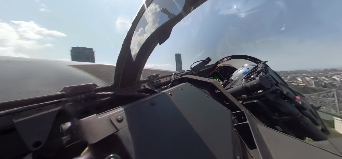 Article heading image for Watch This 360º Footage From Inside Riverfire's EA-18G Growler