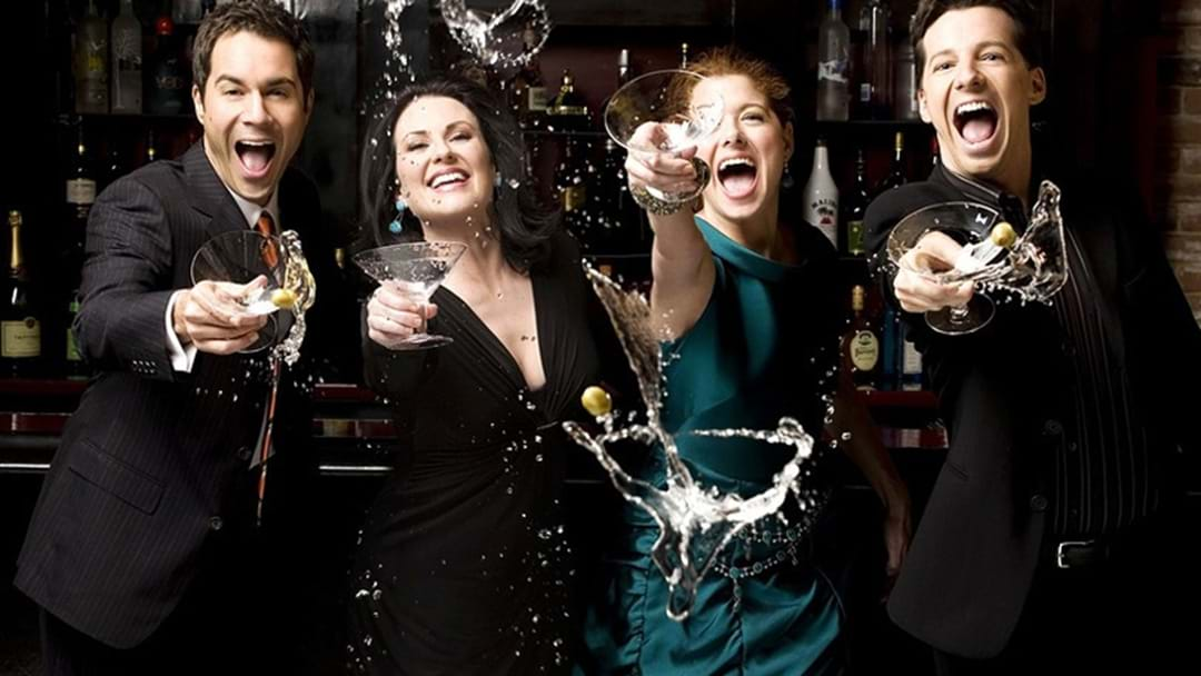 Sydney Is Getting A Will & Grace Pop-Up Bar This Weekend