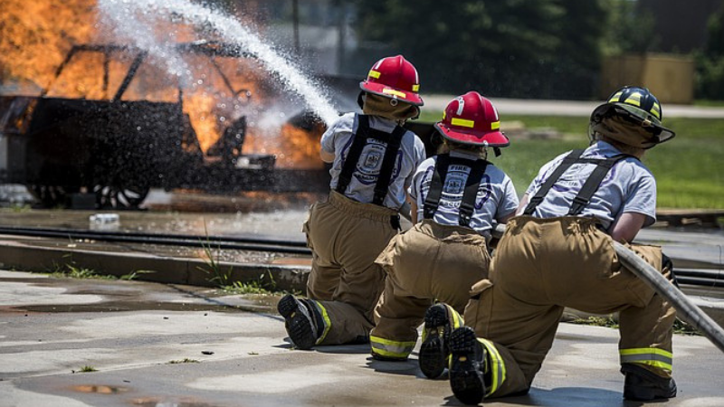 Article heading image for Girls Fire And Emergency Services Camp