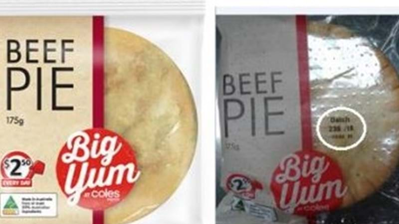 Article heading image for Recall of Coles Express Big Yum Beef Pie